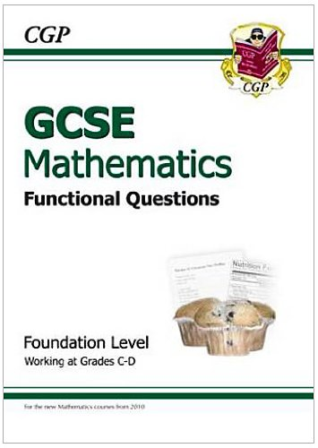 GCSE Maths Functional Question Book - Foundation