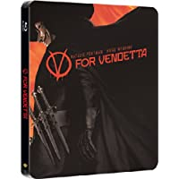 V FOR VENDETTA BLU RAY STEELBOOK