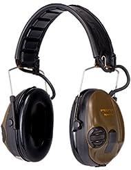 3M Peltor SportTac Gehörschutz grün – Intelligente Ohrschützer mit effektiver Schalldämmung speziell für Jäger & Sportschützen – Dynamische Geräusch-Regelung – SNR = 26dB