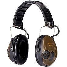 3M Peltor Orejeras Electrónicas para Caza SportTac protector auditivo, 26 dB, plegable