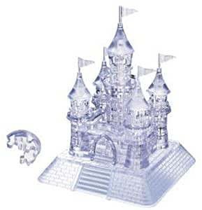 Crystal puzzle Castle (japan import)