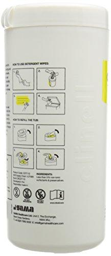 Clinell–Salviette detergenti, confezione da 110