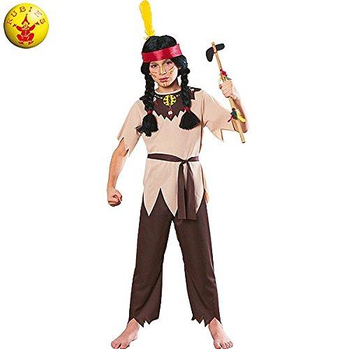 Imagen de rubie's  disfraz de guerrero indio, para niños 12126 s