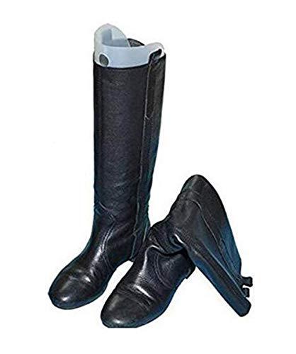 tupwel 2Paar (4Stück) Multifunktions automatische dicker Schuh Baum Form Unterstützung für die meisten Frauen Lady Schuhe Hohe Stiefel kurz, Knie Oberschenkel Shaper fügt Halter Aufhänger, plastik, Schwarz , 14inch
