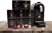 SWISS PRESSO Coffee Machine, Espresso Coffee Capsule, Drip Coffee Machine, Espresso Capsule With 80 Capsules N