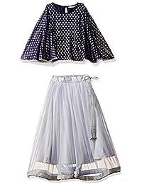 Karigari by Unlimited Girls' A-Line Regular Fit Salwar Suit Set (400017789316)