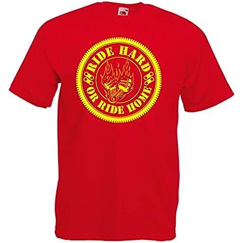 N4688 Camiseta Ride Hard! Biker clothing