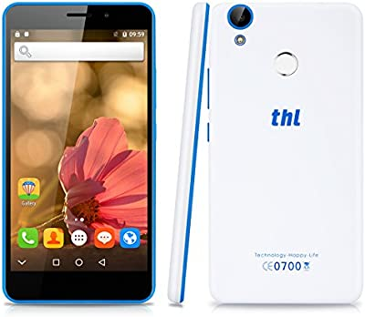 THL T9 PRO - 4G Smartphone Libre Android 6.0 (Pantalla 5.5'' IPS, MT6737 Quad Core 1.3 GHz, 2GRam, 16GRom, Dual Sim, Huella Dactilar Smart Wake)