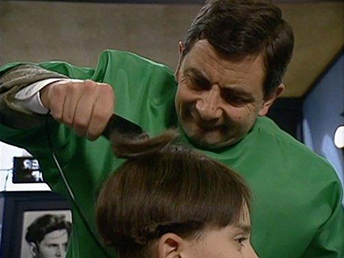 Haare von Mr. Bean