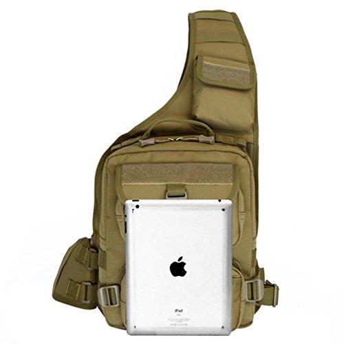 F@20L nylon impermeabile mimetica digitale zaino alpinismo, borsa per macchina fotografica, borsa a tracolla e Zaino outdoor tattiche di scossa, militare campeggio borsa casual , D F