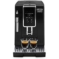 DeLonghi Dinamica ECAM 350.15.B Kaffeevollautomat (1450 Watt, Digitaldisplay, Milchaufschäumdüse, Lieblingsgetränke auf Knopfdruck, Herausnehmbare Brühgruppe, 2-Tassen-Funktion) schwarz