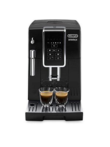 DeLonghi Dinamica ECAM 350.15.B Kaffeevollautomat (1450 Watt, Digitaldisplay, Milchaufschäumdüse,...
