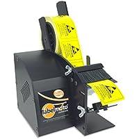 START International LD3000-EU Dispensador de Etiquetas Eléctrico de Alta Velocidad, Ancho Máximo de 57 mm, Longitud Máxima de 76 mm, Negro