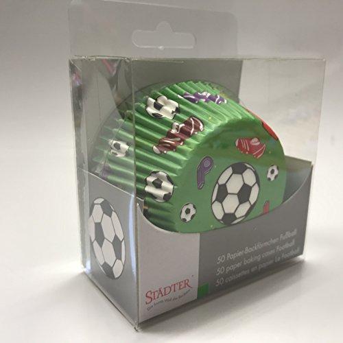 Staedtler Haus Maxi Fußball Papier Backblech, grün, 50Stück -
