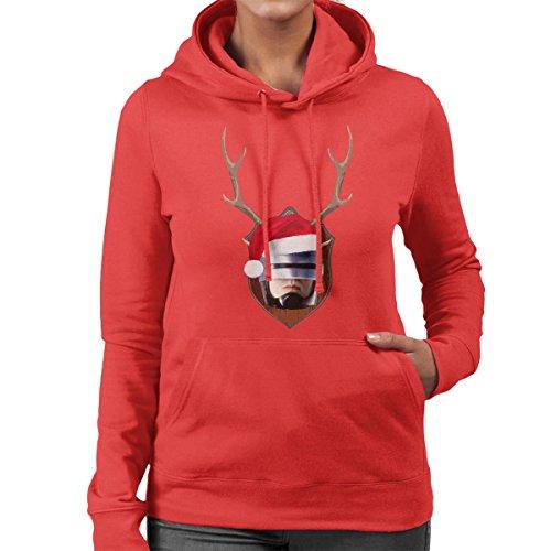robocop-christmas-antler-head-womens-hooded-sweatshirt