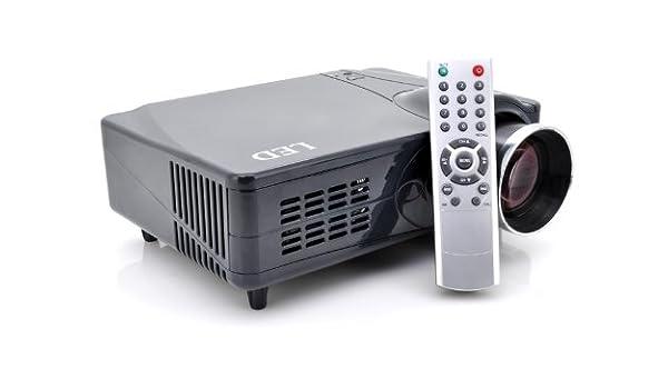 LED Home Theater Projector - HDMI, VGA, AV, YPrPb: Amazon.co.uk ...