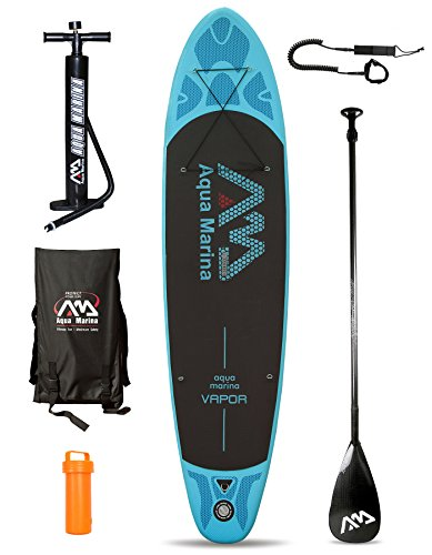 VAPOR (10ft 10in / 3.3m) Inflatable Stand Up Paddle Board SUP (Board + Carbon Pro Paddle + Leash)