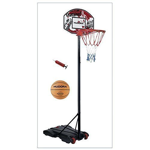 Hudora Basketballkorb Set All Stars 71654 mit Ball und Pumpe