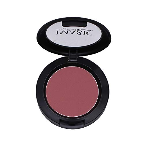 erthome Eye Shadow Blush Palette Face Makeup Baked Cheek Color Blusher Dezent-matter Blush für einen frischen Alltags-Teint für alle Hauttypen -