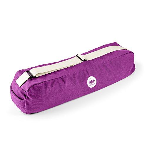 Lotuscrafts Yogatasche PUNE Bio-Baumwolle, Purple