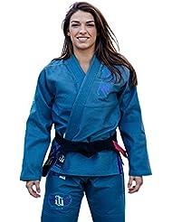 War Tribe mujer de Jiu-Jitsu Brasileño Grey Finesse