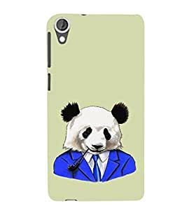 EPICCASE Panda in a suit Mobile Back Case Cover For HTC Desire 820 (Designer Case)