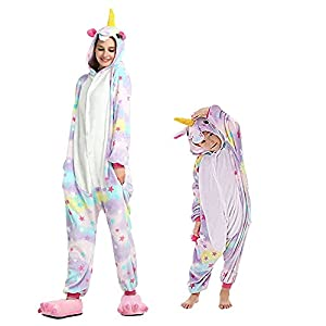 Regenboghorn Unicornio disfraz de pijama