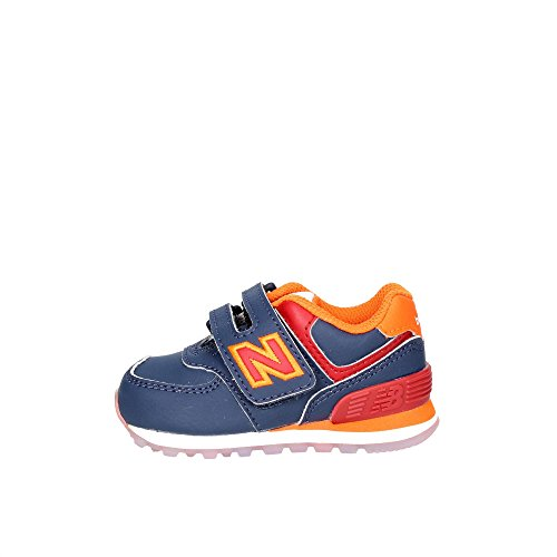 NEW BALANCE 574 BLU ARANCIO BLUE ORANGE KV574Z6I Blu/arancio