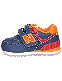 NEW BALANCE 574 BLU ARANCIO BLUE ORANGE KV574Z6I