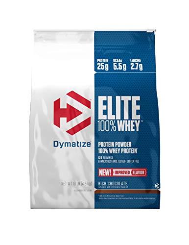 Elite Whey Protein (Dymatize Elite Whey Protein Chocolate, 1er Pack (1 x 4,54 kg))