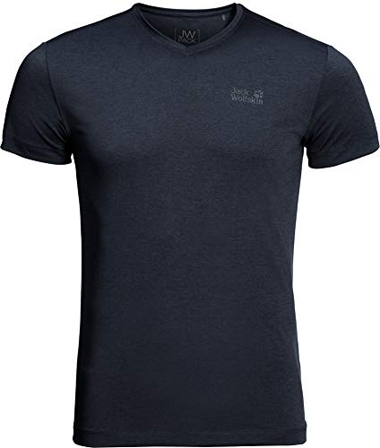 Jack Wolfskin Herren JWP T-Shirt, Night Blue, M