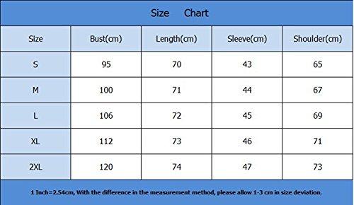 T-Shirt Manica Lunga Donna Eleganti Pullover Camicia Rotondo Collo Magliette Puro Colore Pulsante Bluse Cachi