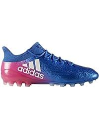 another chance b7847 2ba86 adidas Scarpe da Calcio X 16.1 AG Blue-White-Shock Pink