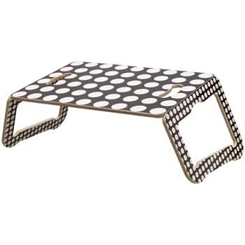 ikea brada support pour ordinateur portable noir blanc 42x30 cm cuisine maison. Black Bedroom Furniture Sets. Home Design Ideas