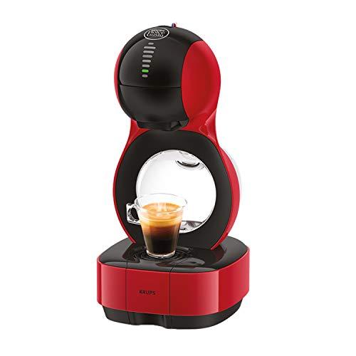 Krups Nescafé Dolce Gusto Lumio KP1305 Kapsel Kaffeemaschine, rot, 1,0 l