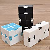 Fantasyworld Infinito Plaza Cubo Flip Cubo de Bolsillo Infinito Flip Bolsillo mágico del Cubo de Rubik descompresión Suave Puzzle Cubo