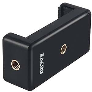 Zacro Smartphone Stativ Adapter Handy Halterung Handy Selfie Stick Clip Halter Montageadapter für Einbeinstativ/Dreibeinstativ Stativ-Halterung für iPhone 8, 8 Plus, 7, 7 Plus, 6, 5, 5C, 5S und andere Smartphones