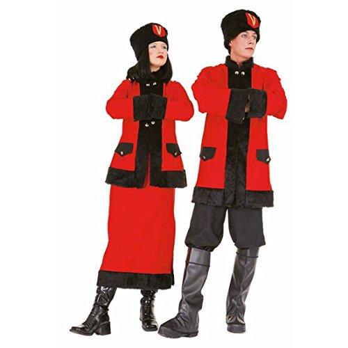 Kosakin Kostüm Russin Russenkostüm Russen Disko Outfit Kosakenkostüm Damenkostüm Kosakinkleid Kosakinkostüm
