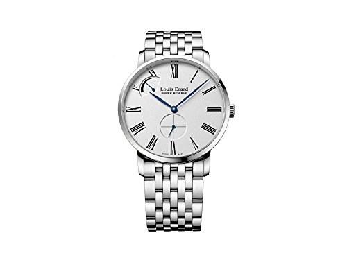 Louis Erard Excellence Manual Watch, White, 40 mm, 5 ATM, 53230AA11.BMA35