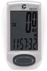 Cannondale Cannondale Compteur Filaire IQ100 11 fonction - Blanc Compteurs blanc