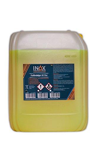 INOX® All Star Multireiniger, Universalreiniger für Textilien und Kunststoffe - 5 Liter