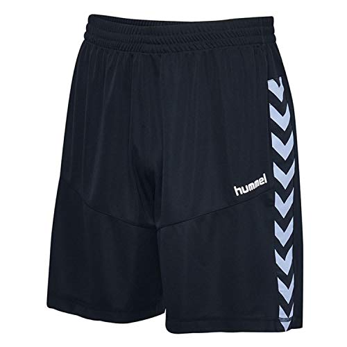 Hummel Kinder Court Poly Shorts, Black, 140