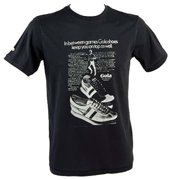 Gola Classics Mens Cooper T Shirt Black Small