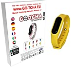 Go-Tcha 2019 LED-Touch-Armband Pikachu GELB Edition für Pokémon Go(Alternative zu Go Plus)