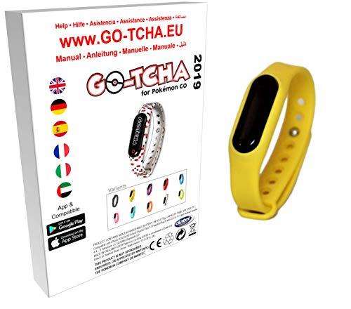 Go-Tcha 2019 LED-Touch-Armband Pikachu GELB Edition für Pokémon Go(Alternative zu Go Plus) (Pokemon Gelb)