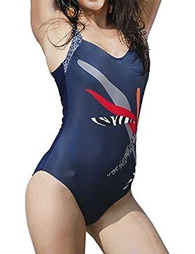 Laozana Mujer Monokini Hojas Imprimir Banadores Trikinis Push Up Beachwear Swimsuit Swimwear Trajes De Una Pieza Tallas Grandes Ropa Deportiva Deportes Y Aire Libre Ropa Deportiva