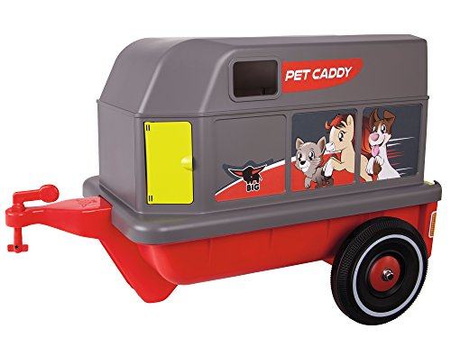 BIG 800056261 - Bobby-Car-Pet-Caddy, rot grau