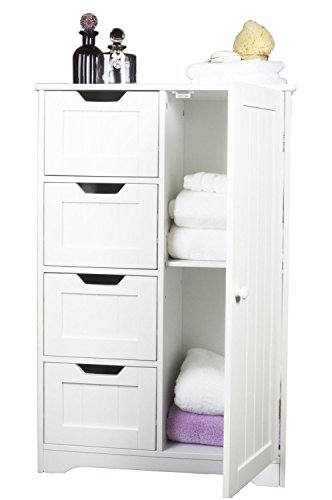 home-treats-white-wooden-bathroom-cabinet-with-four-drawers-cupboard-ideal-for-bathroom-or-bedroom