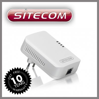 Sitecom LN-504 HomePlug PowerLine Adapter 85 Mbit/s