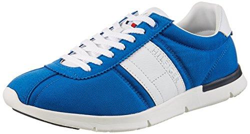 Tommy Hilfiger Fm0fm00306, Baskets Basses Pour Homme Bleu (imperial Bleu 407)